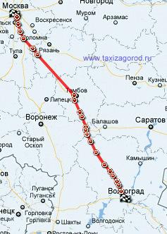 Такси межгород такси москва волгоград